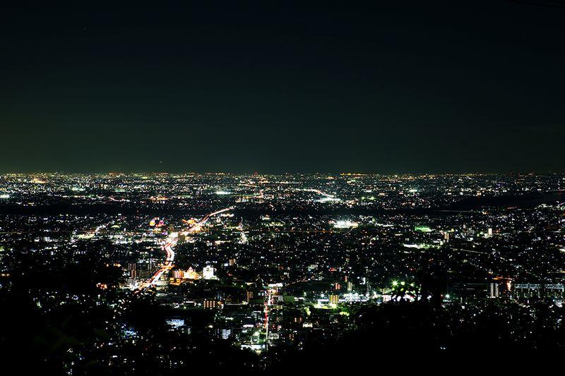 愛知側の夜景
