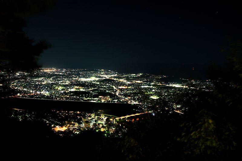 岐阜側の夜景
